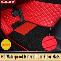 Latest model Waterproof Leather car floor mats for audi a6 c7 avant renault fluence porsche cayenne car ковер car accessories