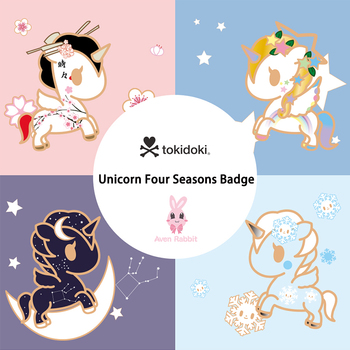Authentic Tokidoki Bag Unicorno Blind Box Toys New Offers Unicorn Four Seasons Badge Accesorios Gifts for Girls