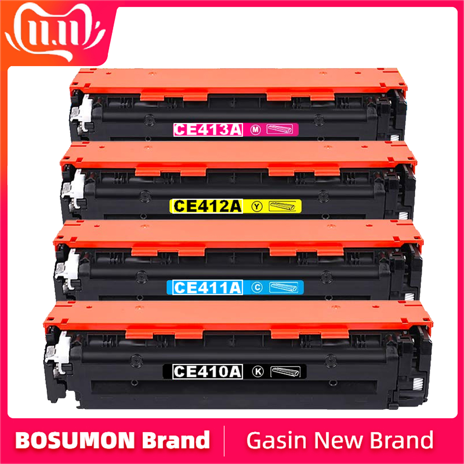305X <font><b>305A</b></font> CE410X CE410A CE411A CE412A CE413A Toner Cartridge Compatible for <font><b>HP</b></font> Laserjet Enterprise 300 color M351 image