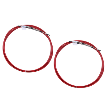 2pcs Red Throttle Shift Remote Control Box Cable For Yamaha Outboard 21 FT