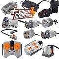 Technische Motor Teile Multi Power Funktion Werkzeug 8293 8883 Motor PF Sets Zug Motor Motor Bausteine Kompatibel mit lego