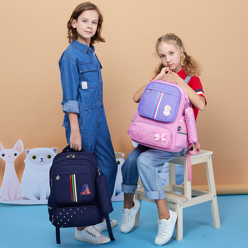 Yangguang8dian New Style Schoolbag For Elementary School Students Korean-style 2-4-6 Grade Men And Women Children Cute Backpack