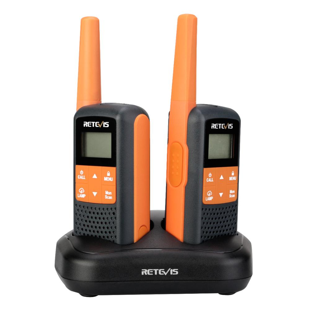Retevis RT649/RT49 Walkie-talkies 2pcs Family Use IP54 Waterproof For Hunting UHF PMR446 FRS Emergency Two Way Radio Portable