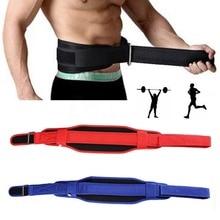 Weight Lifting Support Fitness Workout Back Waist Brace Training Belt