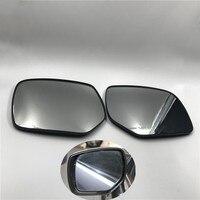Soarhorse carro retrovisor espelho lateral lente de vidro com aquecida para subaru forester outback legado xv crosstrek impreza