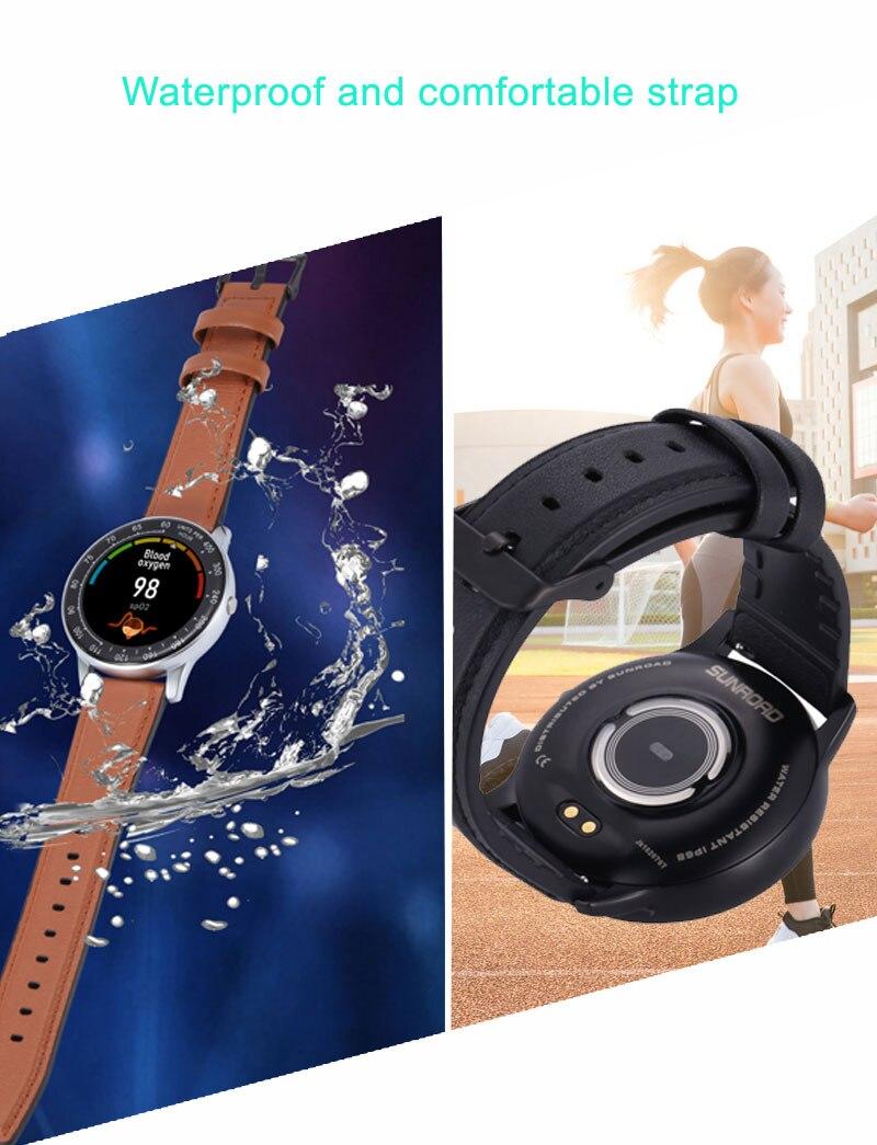 inteligente relógios masculinos à prova dwaterproof água