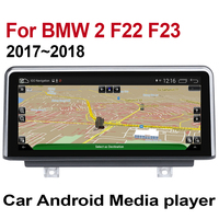 10.25 HD Screen For BMW 2 F22 F23 2017 2018 Stereo Android 7.0 up Car GPS Navi Map EVO Original Style Multimedia Player Auto