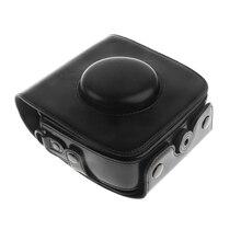 Чехол из искусственной кожи для камеры с защитный ремень для Fujifilm Fuji Instax Square sq10 Mini instant camera