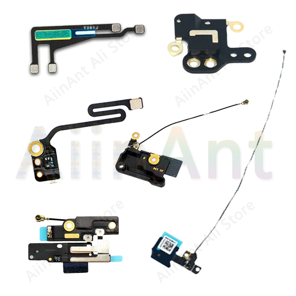 Original For IPhone 6 6s Plus 5 5S SE 5C Wifi Bluetooth NFC WI-FI GPS Signal Antenna Flex Cable Cover Repair Parts