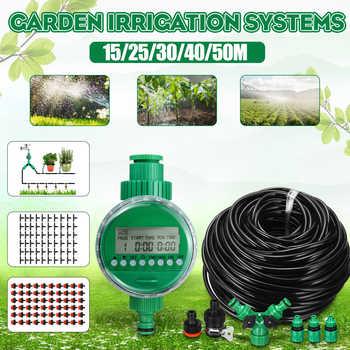 15/25/30/40/50m minuterie darrosage automatique système dirrigation serre plante Kit pour fleurs plantes bonsaï Intelligent Care