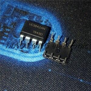 10 PÇS/LOTE UC3842AN DIP8 UC3842 UC3842BN DIP DIP-8 3842AN UC3842A UC3842B UC3842 novo e original IC Em Estoque