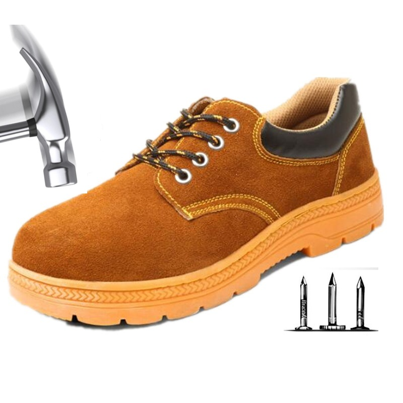 Indestructible Ryder Shoes Men Women Steel Toe Air Safety Boots Suede Puncture-Proof Work Sneakers Breathable Shoes Dropshipping