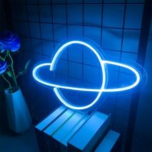 Индивидуальная светодиодная неоновая вывеска Логотип Вселенной