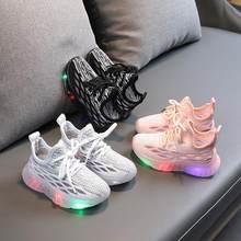 Zapatos nb – baskets lumineuses et légères pour enfants, chaussures de Sport pour garçons et filles