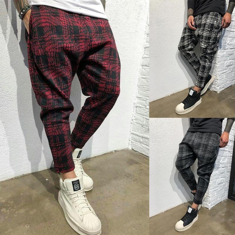 Baggy Cotton Linen Harem Pants Men Hip-hop Mens Plus Size Wide Leg Trousers Casual Vintage Long Pants Mens Pantalones Hombre