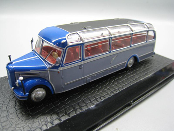 rare  Special Offer  1/72  B 4000 1952  Classical Bus  Alloy Collection Model
