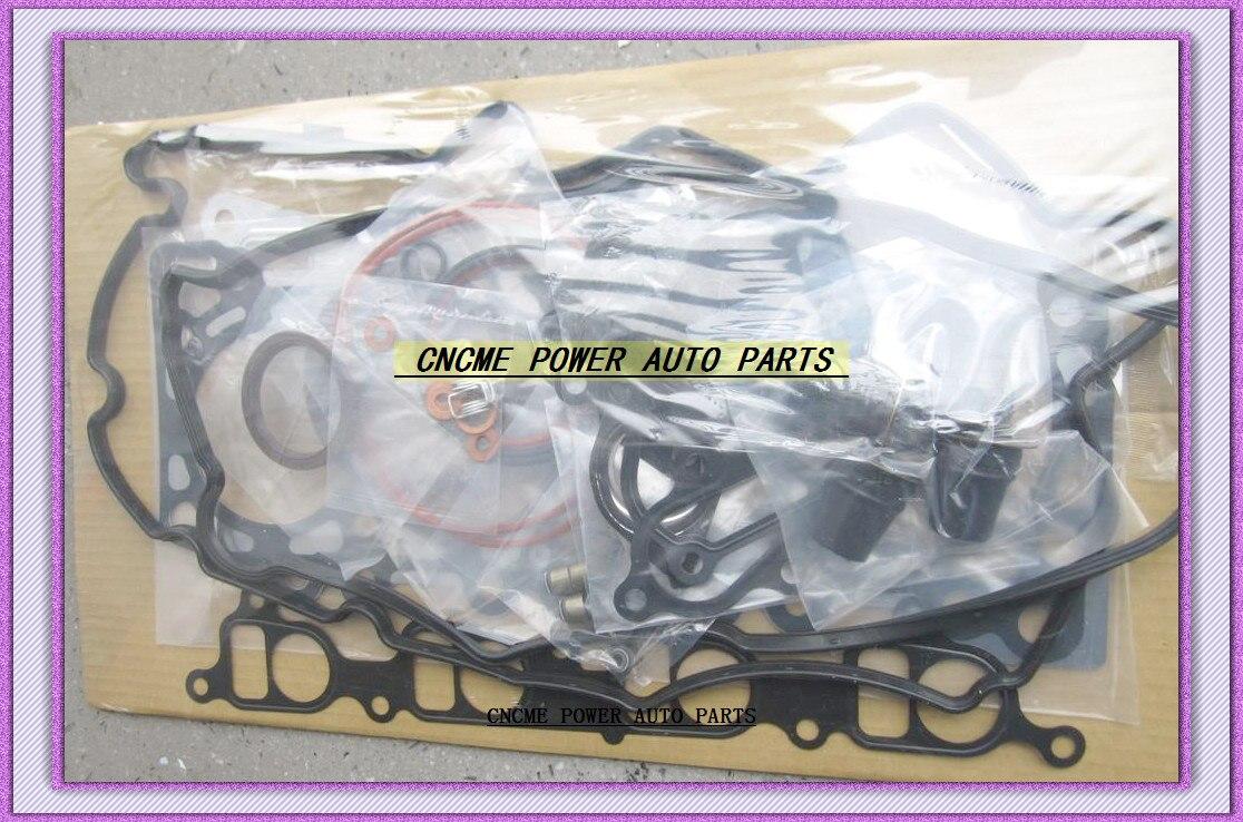 YD25 YD25DDTI 2.5L двигатель полный комплект прокладок для Nissan Navara (D40) 2006 Pathfinder (R51) 2007 Murano 2001 NV350 51023700
