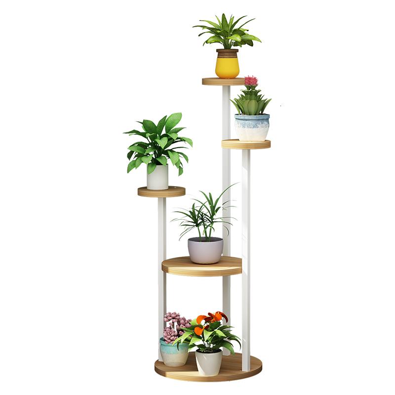 Art Balcony Iron  Landing Type Multi-storey Flowerpot Flower Rack