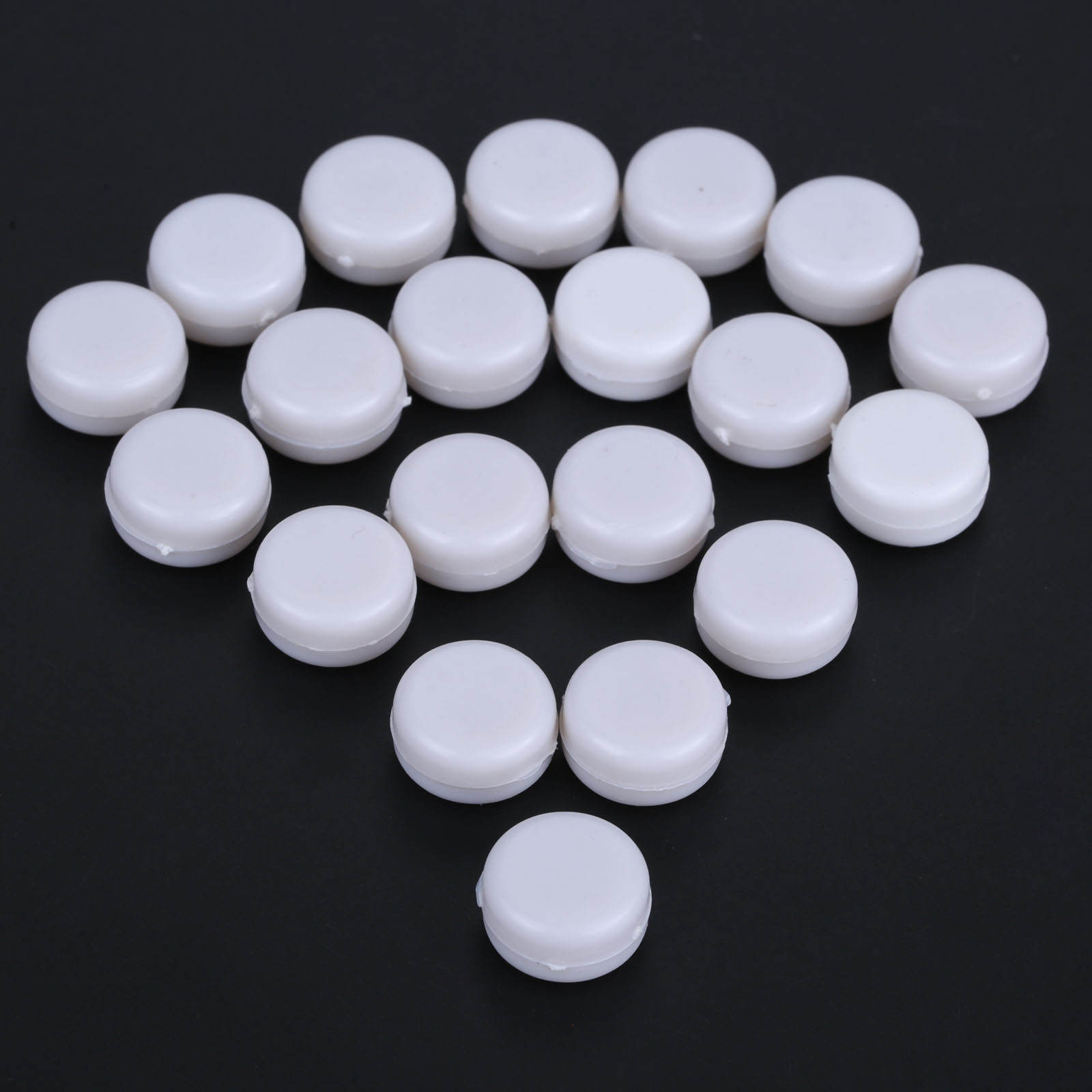 Toy Insert Bell Rattle Squeaker-Toy Plastic White Pet 20pcs 15mm Box Repair-Fix Baby