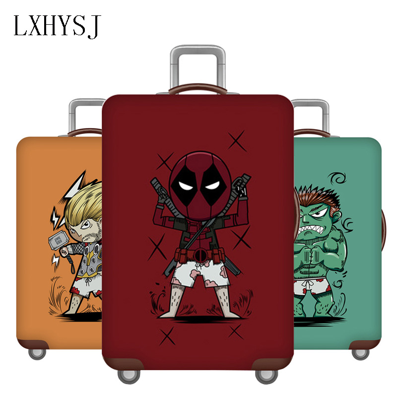 Travel Thicken Luggage Cover Elasticity Suitcase Protective Sleeve For 18-32 Inch Trolley Case Dust Cover Travel Accessories