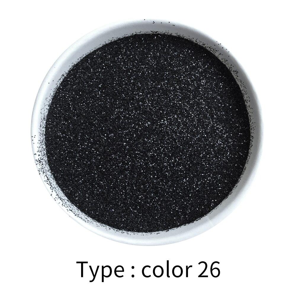 50g Black Glitter Powder Pigment Coating Paint Powder For Painting Nail Decorations Automotive Arts Crafts Mica Powder Pigment