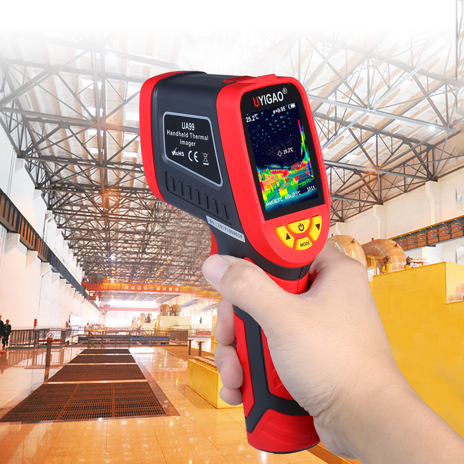 Digital Mini Infrared Thermal Camera Made With ABS Material For Measuring Tools 1