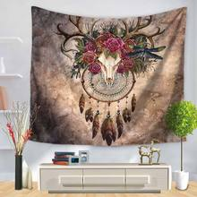Background-Cloth Wall-Carpet Witchcraft-Supplies Hanging Beach-Mat Boho Home-Decor Printed