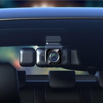 Aiba A12 Car Dvr with Rear Camera WDR Night Vision Camera Dash Cam with Wifi G-sensor Loop Recording Car Camera Original Black