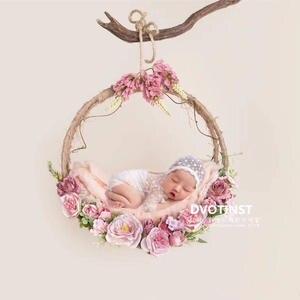 Dvotinst Hanging-Basket Fotografia-Accessories Photography-Props Shooting-Photo Flowers