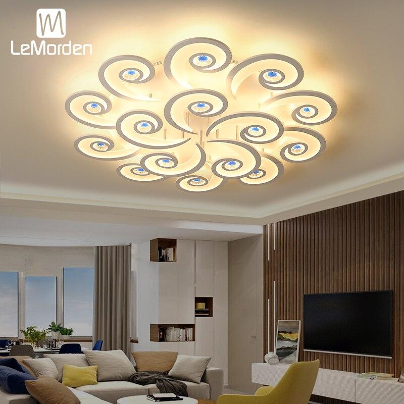 New Arrival Ceiling Light Novelty Post-modern Living Room Fixtures Bedroom Study Room LED Chandelier Lighting Lamp