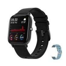 SENBONO 2020 P8 Astuto Della Vigilanza Donne Degli Uomini di Sport IP67 Impermeabile Orologio Frequenza Cardiaca Monitor di Pressione Sanguigna di Smartwatch per IOS Android