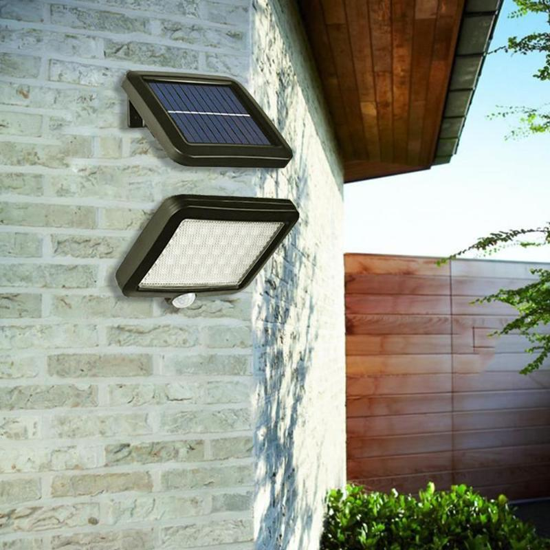 30/56 LED Solar Powered PIR Motion Sensor Wall Light Waterproof Outdoor Garden Human Body Sensor Solar Lamp Chandelier Pendant