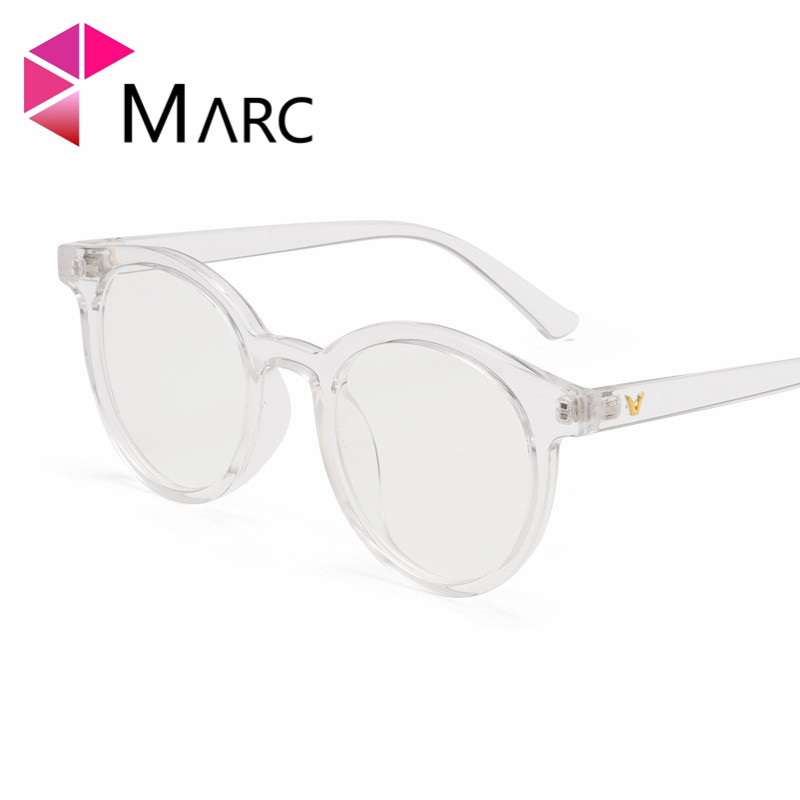 MARC 2019 Women Retro Eyeglasses Frame Female Eye Glasses Vintage Optical Prescription Transparent 1939