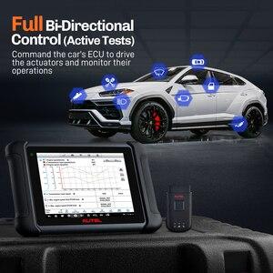 Image 5 - Autel أداة تشخيص السيارة MaxiSys MS906BT ، تشخيص السيارة مع تشفير وحدة التحكم الإلكترونية ، الاختبار النشط ، مفاتيح IMMO ، مستوى OE ، إعادة ضبط الزيت ، EPB ، SAS