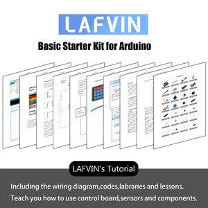 Image 5 - مجموعة بادئ أساسي من لافين تشمل مستشعر فوق صوتي ، سلك توصيل معزز لـ Arduino لـ UNO مع البرنامج التعليمي