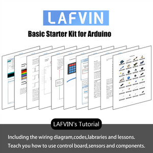 Image 5 - LAFVIN Basic Starter Kit include Ultrasonic Sensor,Jumper Wire for Arduino for UNO with Tutorial