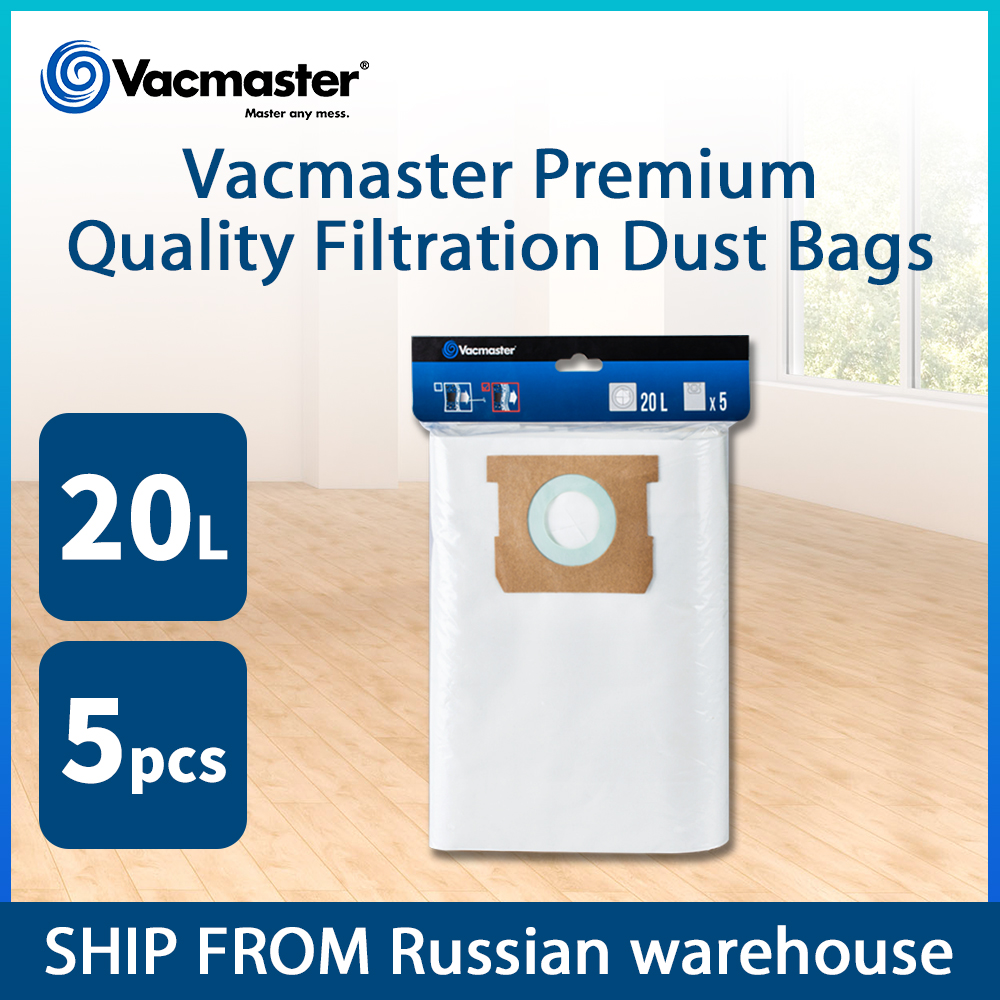 5PCS 20L Vacmaster Fine Filtration Dust Bags Vacuum Cleaner Bags Cleaner Vacuum Accessories
