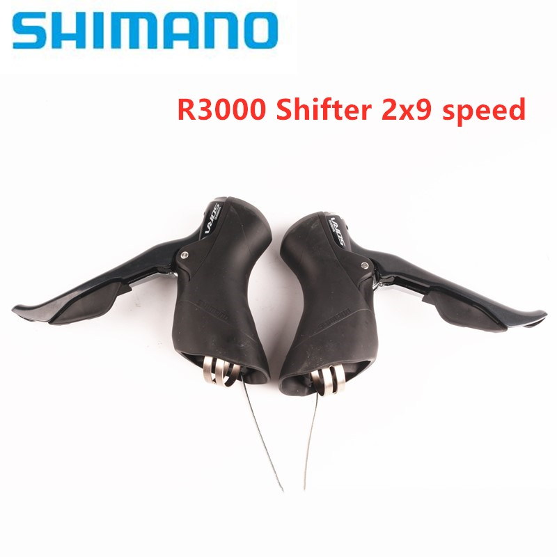 SHIMANO SORA R3000 2x9 R3030 3X9 Speed Shifter Dual Control Lever Road Bike Bicycle for front Derailleur rear derailleur