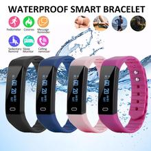 цена на New Sports Waterproof Smart Watch  Smart Bracelet Band Bluetooth Heart Rate Monitor Fitness Tracker Smartwatch