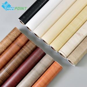 Image 5 - Papel de parede adesivo de grão de madeira, papel de parede decorativo faça você mesmo, adesivos para renovação de móveis de cozinha e armário
