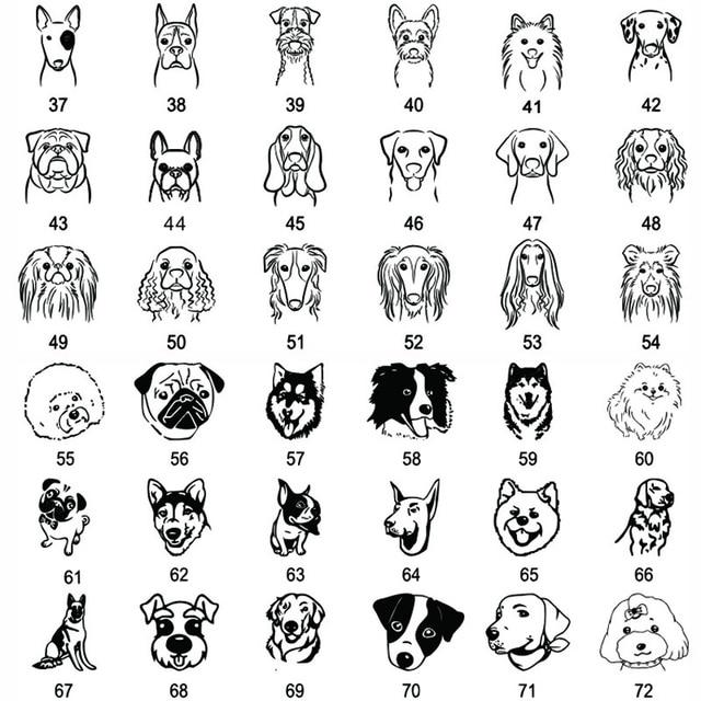 ID tag Free engraving Dog/Cat Collar Nametag  6