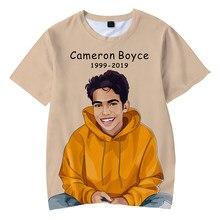 Cameron boyce 3D Roupa Nova T-shirt Impressão Crianças camisetas de verão 2019 Venda quente meninos e meninas de Manga Curta t-shirt mais tamanho