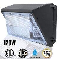 120W extérieur 132 mur LED Pack lumière industrielle sécurité jardin extérieur projecteur éclairage étanche IP65 AC100 277V|Lampes murales extérieures| |  -