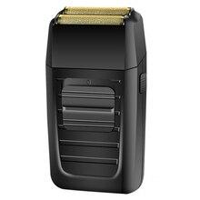 Potente Batteria Ricaricabile Rasoio Shaper barbiere lamina rasoio elettrico barba rasatura rasoio elettrico per barbieri utensile di finitura