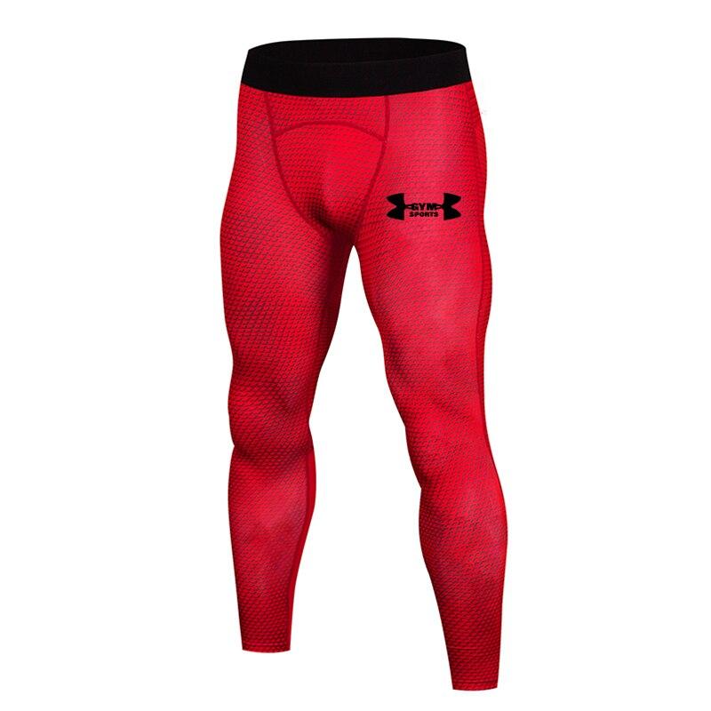 2019 Hot New Compression Pants Jogger Men Training Fitness Sports Leggings Gym Jogging Long Pant Male Sportswear Yoga Bottoms 3