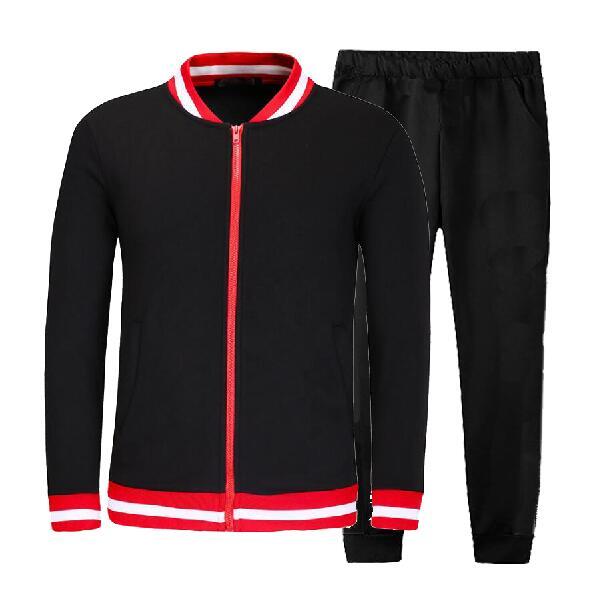 Men's Gym TrackSuit Sport Jacket Coat Suit Set Trousers Jogging Bottom Top Sweatsuits Blazer Train Track Suit Hoodie