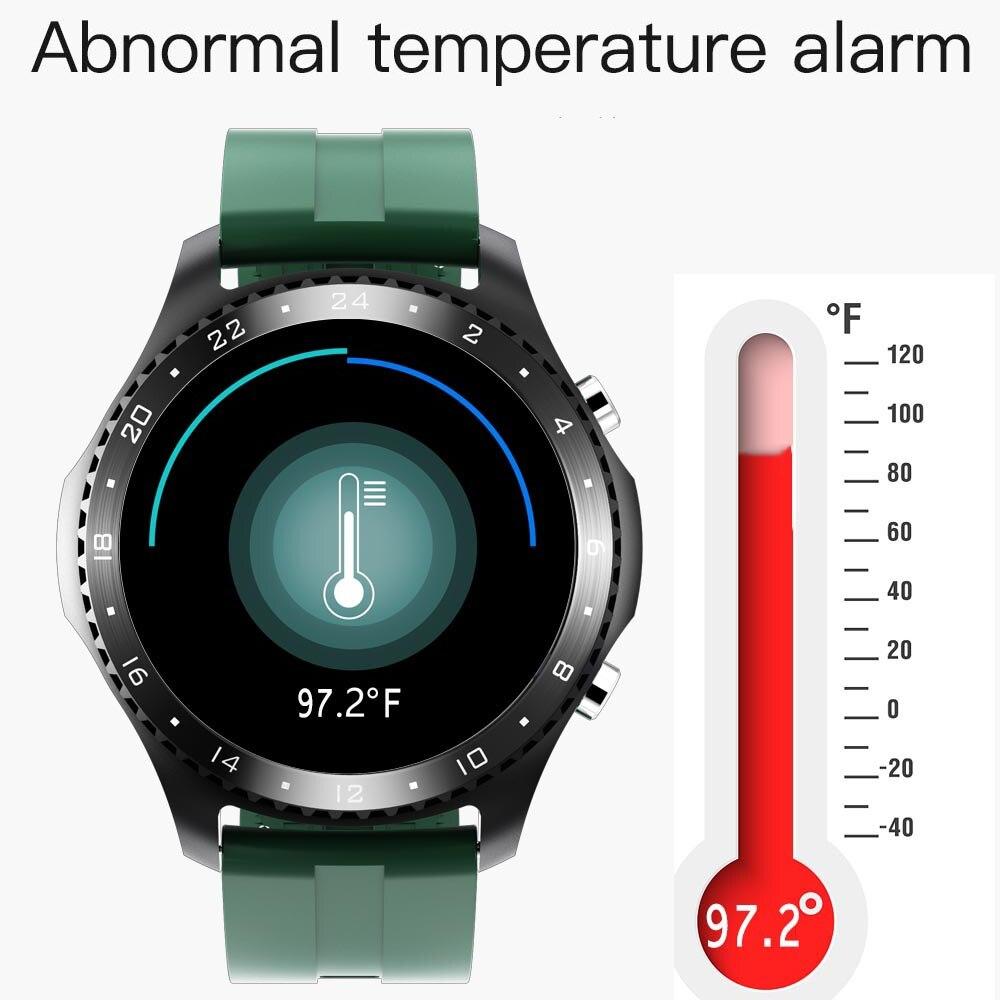 Correr velocidade relógio inteligente 2021 temperatura do