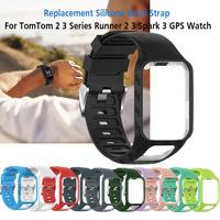 Wrist Band Strap For TomTom 2 3 Runner Spark  Replacement Bracelet For TomTom Runner 2 3 Watchband Watch Bracelet Accessory