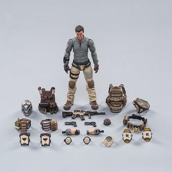 цена на 1/18 JOYTOY 10.5CM Action Figure HELL SKULL DESERT SKULL FIELD  SQUAD One Model Toys Original Box