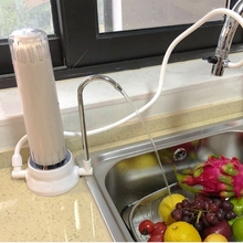Premium Countertop Water Filtration System – Easy To Use Portable Faucet Mounted Filter Transforms Tap Water Into Drinking Water ce emc lvd fcc portable drinking water treatment system